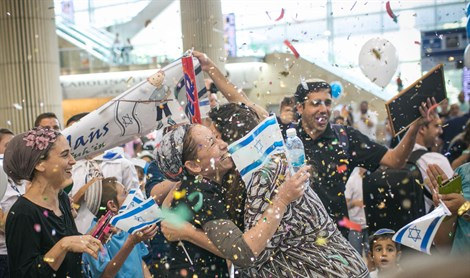 Emotions overflow as new Olim welcomed from France