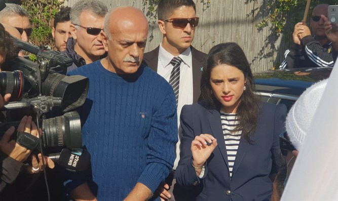 Shaked meets with Druze leaders