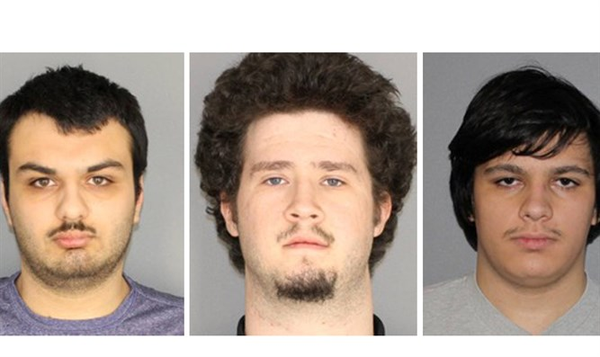 Vetromile, Colaneri, and Crysel, arrested after planning to bomb Muslims