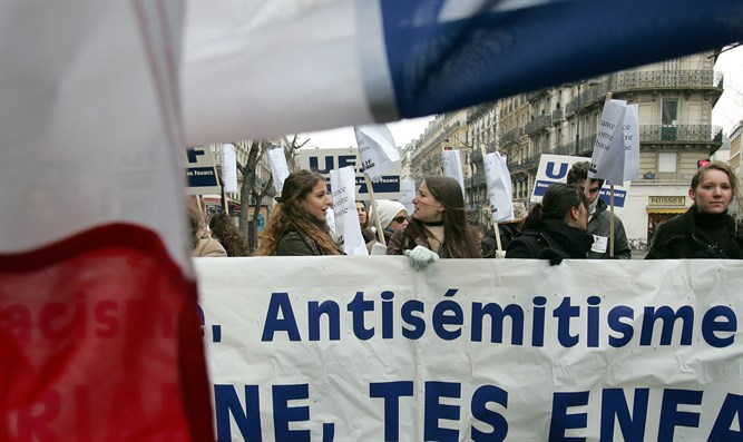 France demonstration against anti-Semitism (archive)