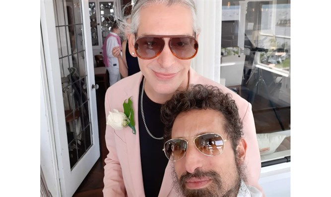 Daniel Zamir at Matisyahu's wedding