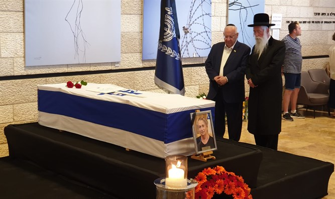 President Rivlin parys repsects to his wife Nechama