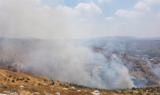 The fire near Yitzhar