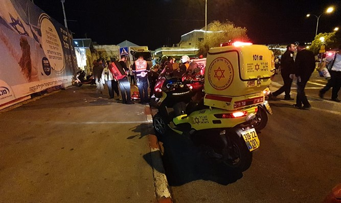 Suspected ramming in Jerusalem