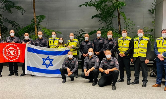 Israeli firefighters arrive in SF